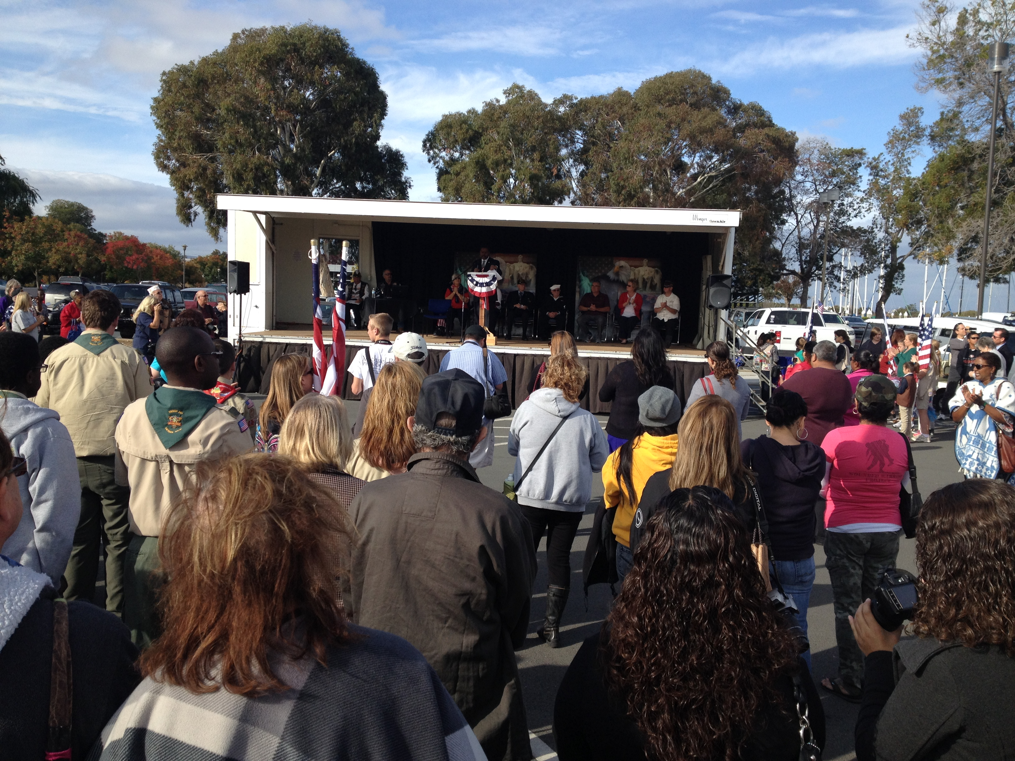 IMG 1048 Antioch commemorates Veterans Day with annual ceremonies, parade, VFW lunch
