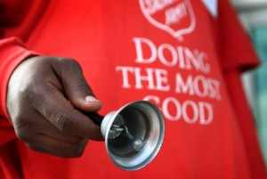 Bell ringer Salvation Army urgently needs bell ringers in Antioch