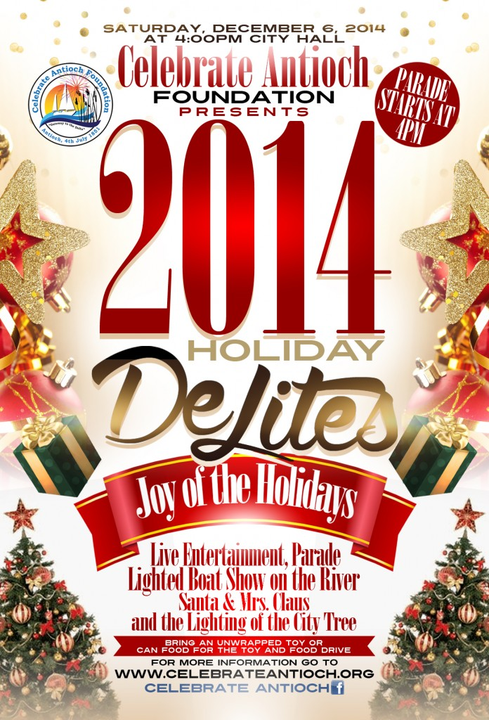 Holiday DeLites Velma Watson 3 696x1024 Antioch to enjoy annual Holiday Delites Parades and Celebration, this Saturday