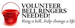 Salvation Army bell ringers Salvation Army urgently needs bell ringers in Antioch