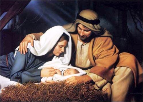 jesus in the manger The real story of Christmas