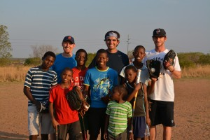 DSC 0056 300x200 Former Antioch student, Boston Red Sox pitcher helps South African orphans through baseball