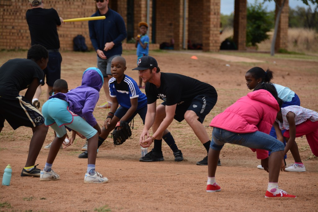 DSC 6971 1024x682 Former Antioch student, Boston Red Sox pitcher helps South African orphans through baseball