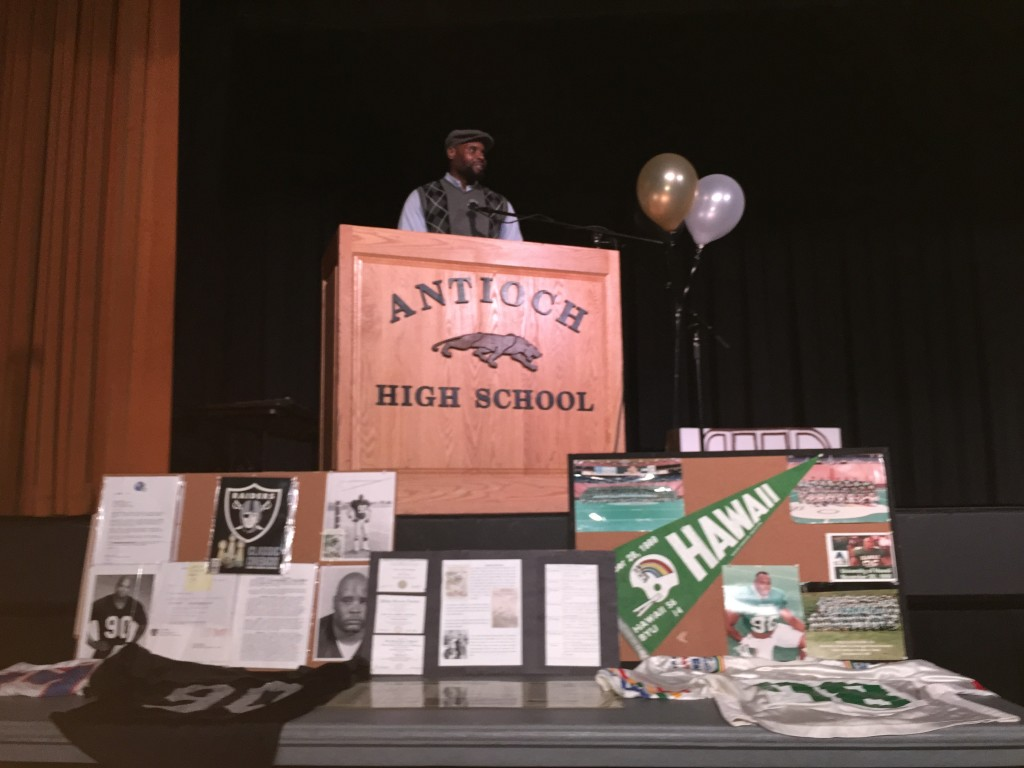 IMG 0048 1024x768 Former Raiders player keynotes Antiochs annual Martin Luther King Day program