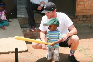 IMG 5845 300x200 Former Antioch student, Boston Red Sox pitcher helps South African orphans through baseball