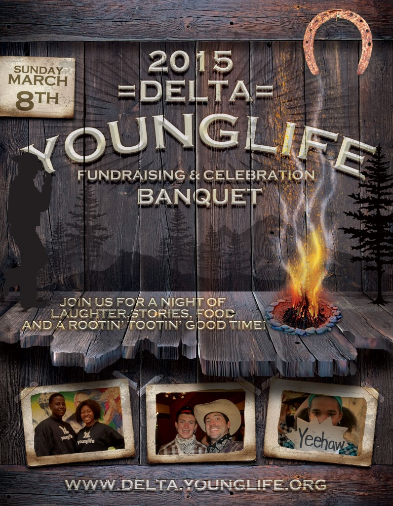 2015YLBanquetFlyer 796x1024 Delta Young Life to hold annual fundraising dinner March 8