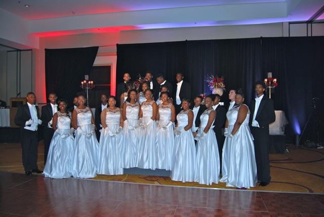 Antioch students participate in Delta Sigma Thetas Inaugural Debutante Cotillion