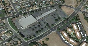 Contra Loma Plaza top view Renovations to Antioch shopping center on Contra Loma Blvd. reflect local resurgence