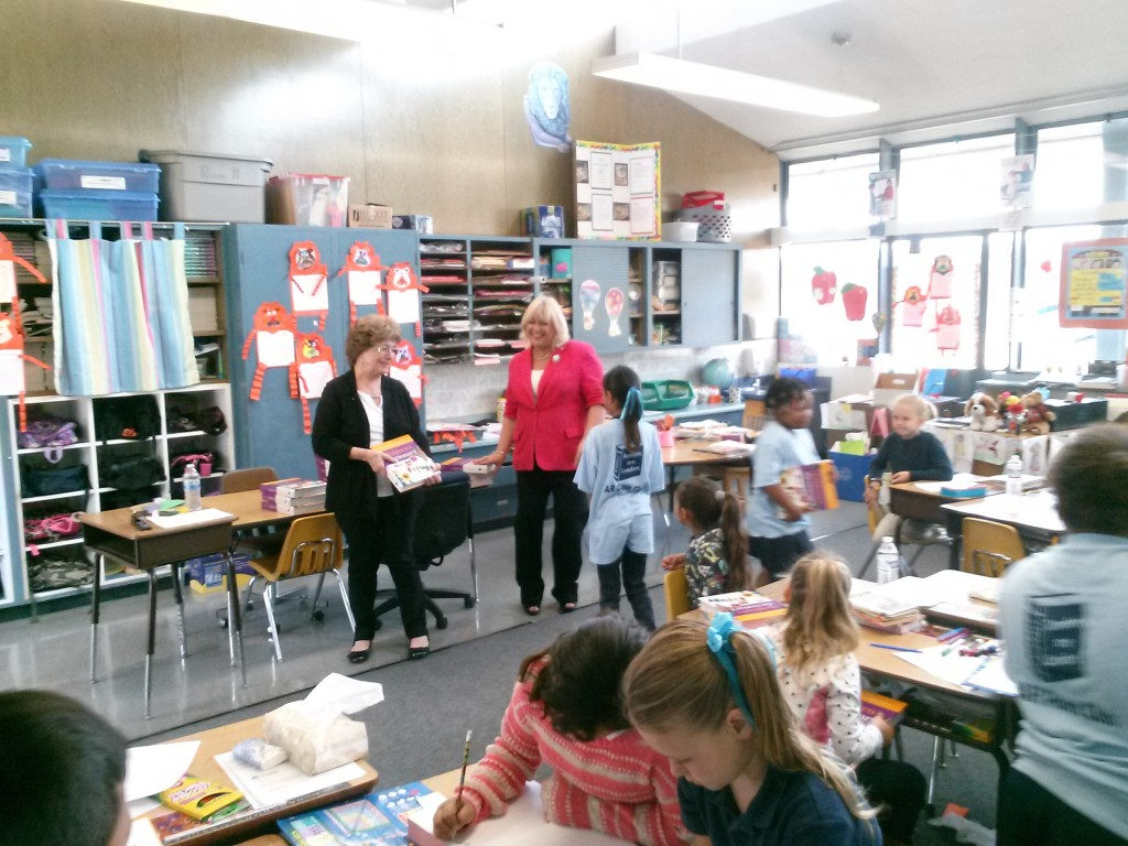 Gloria Martin 1024x768 Antioch Rotary Club expands annual project to give a dictionary to every third grader in town