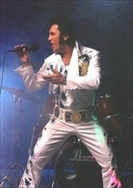 James Clark as Elvis Elvis tribute, Contra Costa Chamber Orchestra, Easter Parade in March at El Campanil Theatre