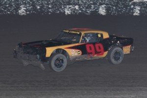 Brian Zachary by Paul Gould 300x199 First wins for Paul Guglielmoni in DIRTcar Late Models and Patti Ryland in IMCA SportMods at Antioch Speedway, Saturday night