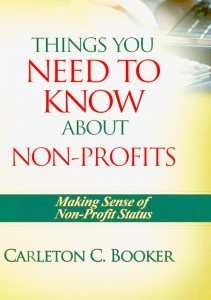 Carleton Booker's book front