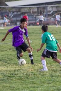 Eli Orocio had most goals 200x300 Dallas Ranch Middle School Aviators in full control at AUSD Soccer Tournament