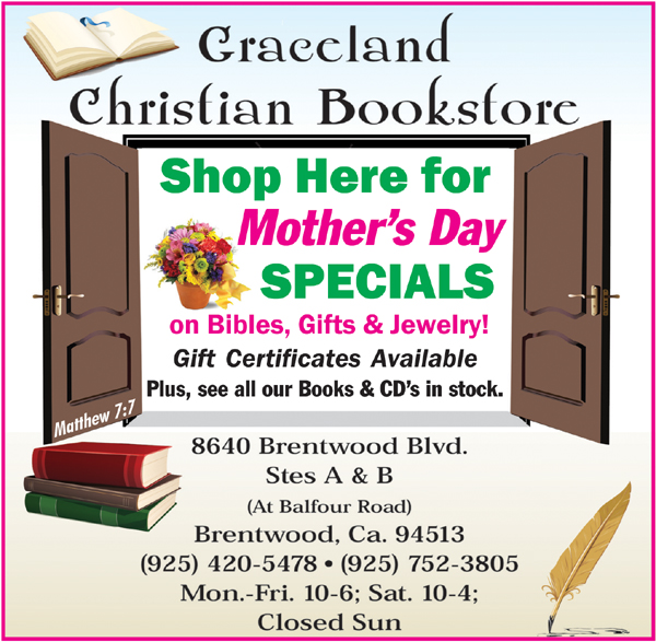 Graceland web 05 15 Specials for Mothers Day at Graceland Christian Bookstore