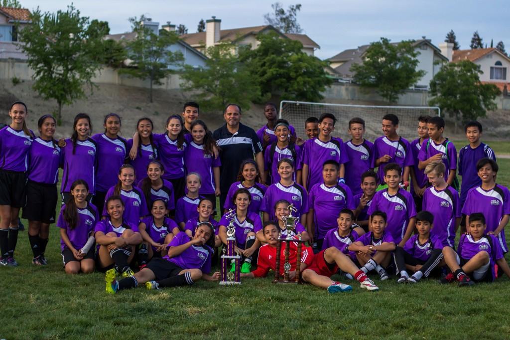 Soccer Champs 1024x682 Dallas Ranch Middle School Aviators in full control at AUSD Soccer Tournament