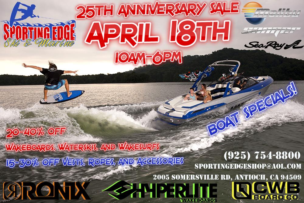 Antiochs Sporting Edge Ski & Marine to celebrate 25th anniversary with sale, this Saturday