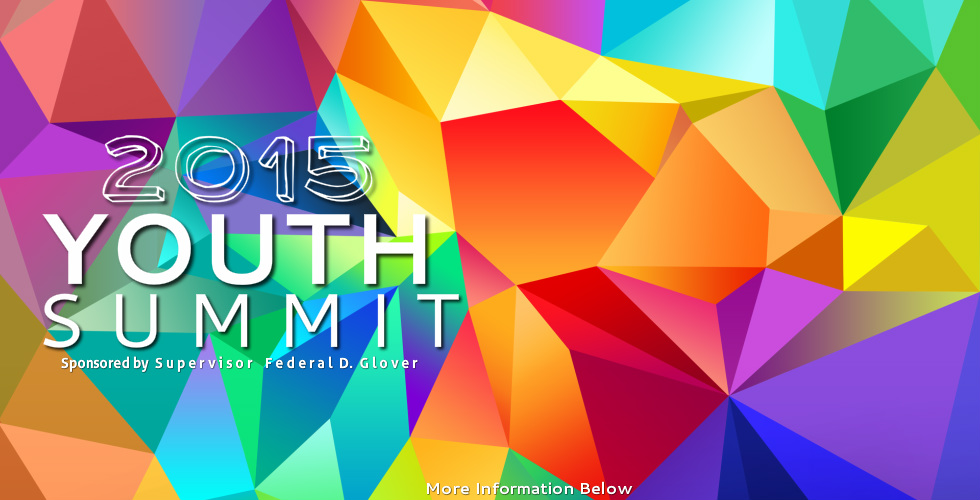 2015 Youth Summit Register for Supervisor Federal Glovers 2015 Youth Summit, Saturday