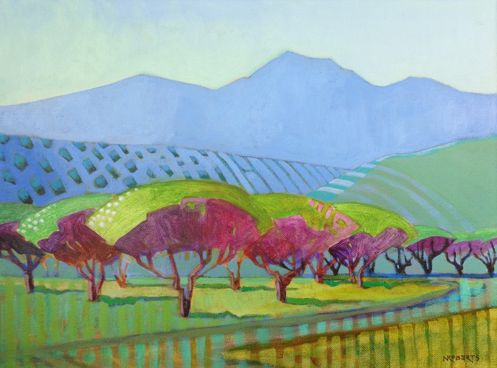 Marsh Creek Orchard by Nancy Roberts 1024x760 Artists Open Studios in Antioch and East County, May 16 and 17