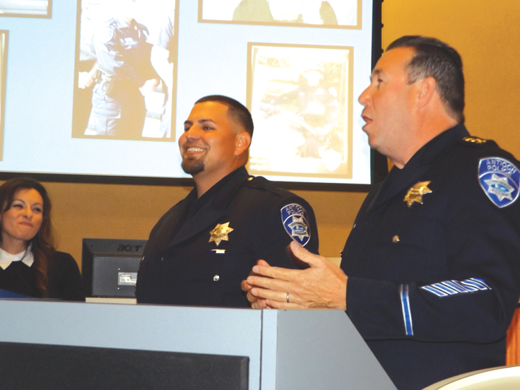 Michael Mortimer web Michael Mortimer is Antiochs 2015 Police Officer of the Year