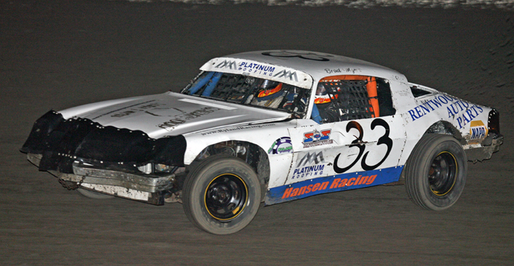Myers Antioch Speedway: Motts with First IMCA Mod Win; Melissa Myers Takes Third Hobby Stock Main