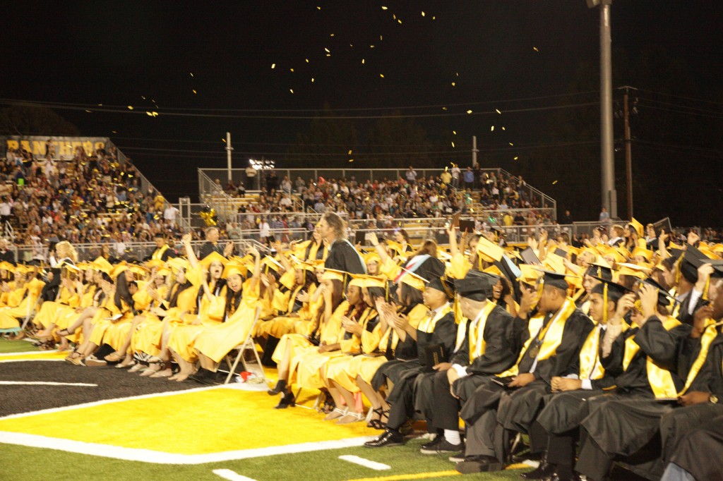 Antioch High graduation 2015 1024x682 Antioch High holds first graduation in new stadium