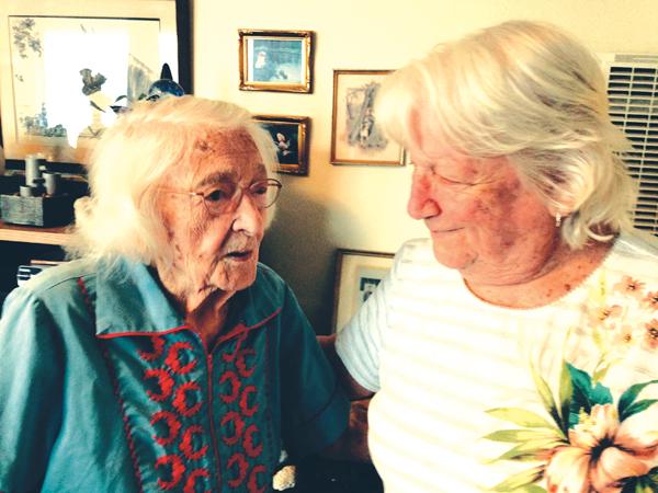Crenna and Margaret Antioch's own centenarian, Crenna Boyd is 105