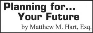 Matthew Hart column logo