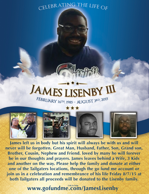 James Lisenby celebration of life Tailgaters to host memorial Friday for Antioch family man who passed