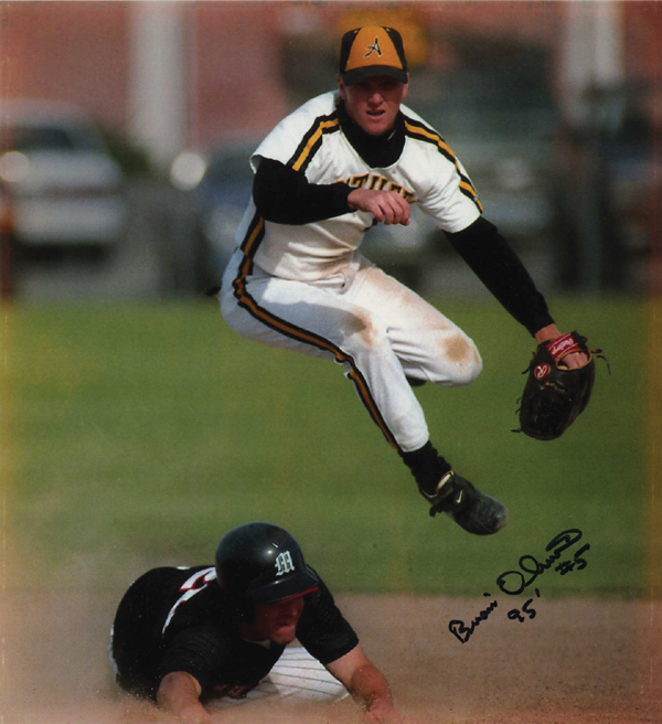 Brian Oliver played short stop for the Antioch High Panthers and went on to play in the minor leagues for the Angels.