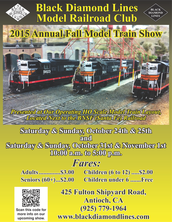 BDL Model Railroad 2015 Fall Show