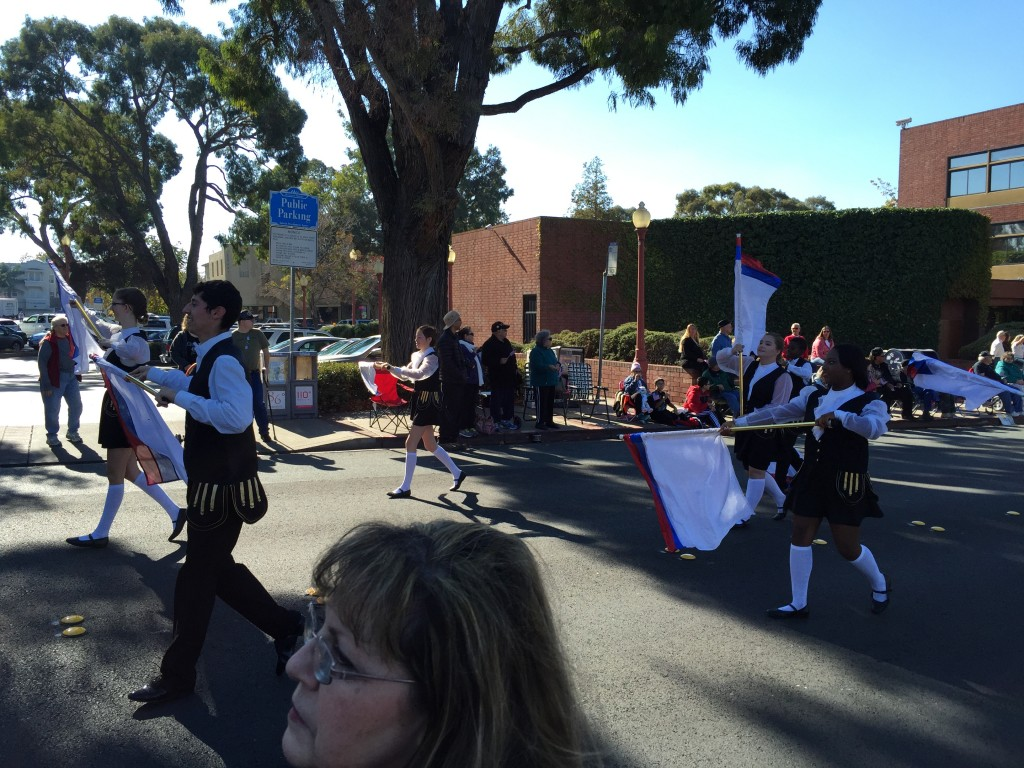 Antioch High Flag Carriers