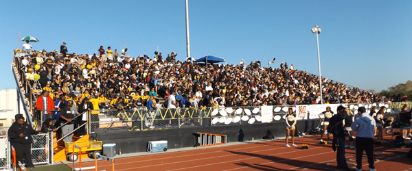 Antioch fans packed the stands to make it standing room only at the 97th Big Little Game victory over Pittsburg.