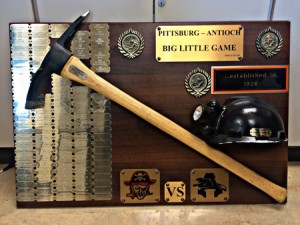 The Big Little Game Trophy. photo by Luke Johnson