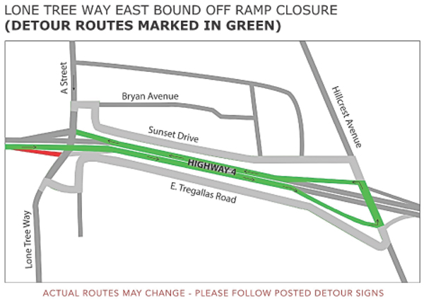D - Lone Tree Way Eastbound