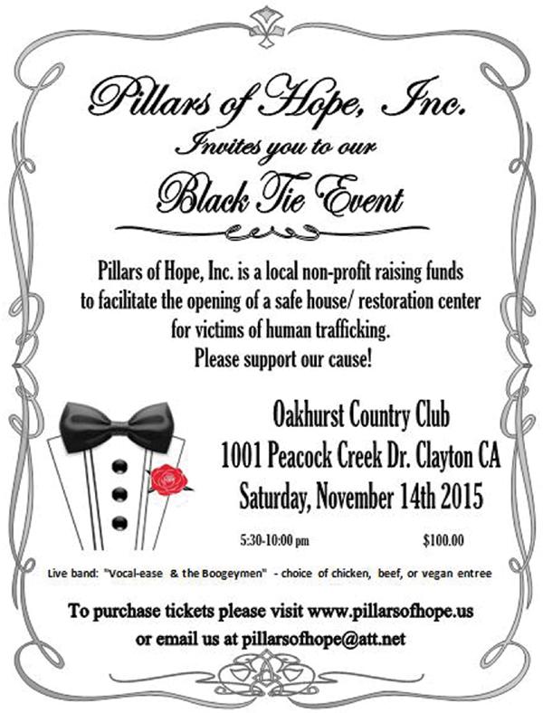 Pillars of Hope event