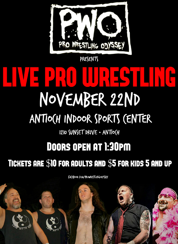 Pro Wrestling at AISC Sun 11-22