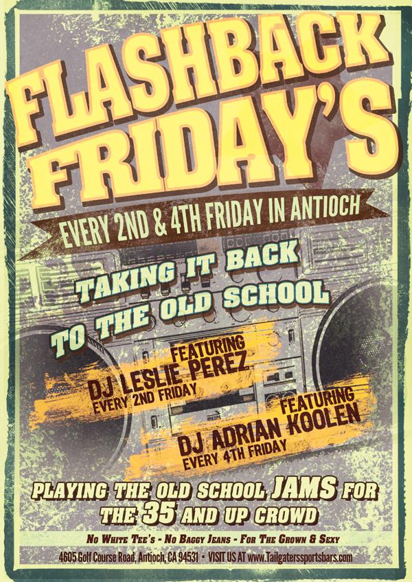 Tailgaters Flashback Fridays