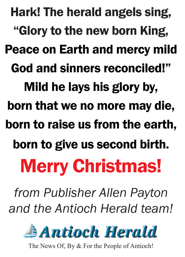 Merry Christmas from the Antioch Herald