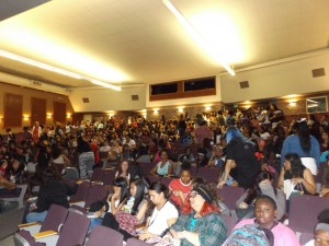 All the girls at Deer Valley High School attended the special Empowerment Project event in October.