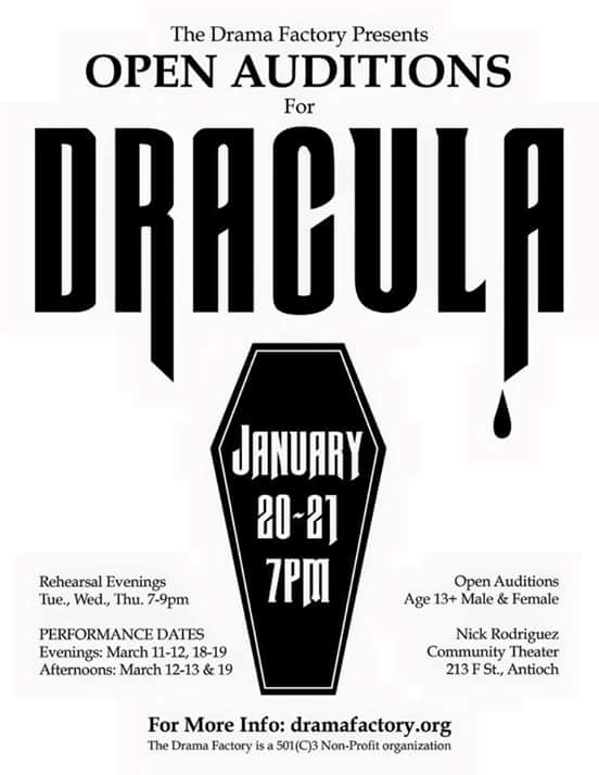 Dracula auditions