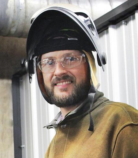 New LMC welding instructor Dann Gesink.