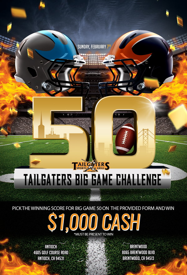 Tailgaters Super Bowl Big Game Challenge