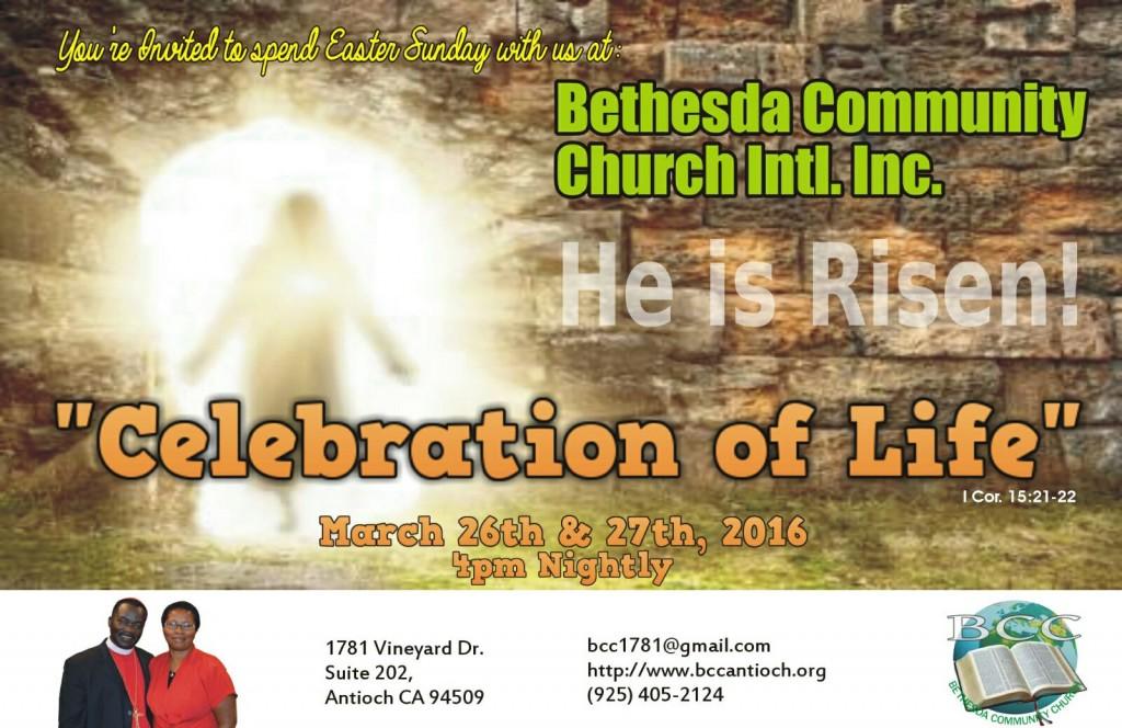 Bethesda Easter