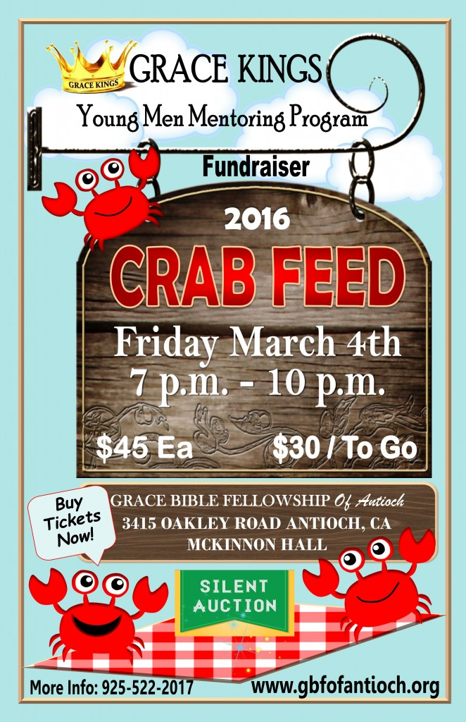 GRACE KINGS CRAB FEED 2016
