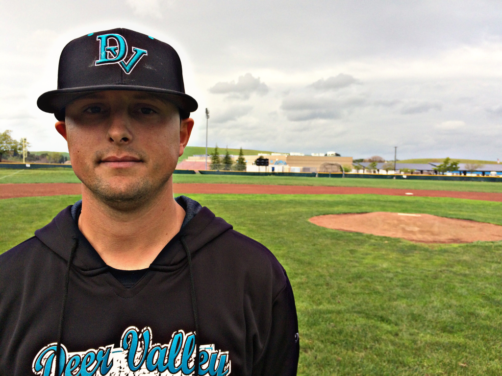 New Deer Valley High School baseball coach Mike Leal. photo by Luke Johnson
