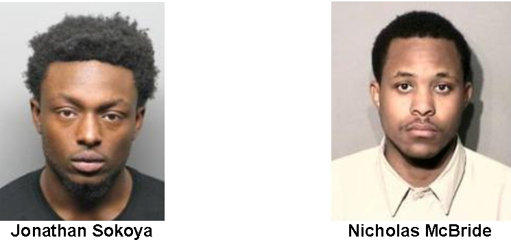 Robbery spree suspects