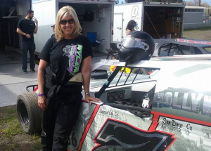 Patti Ryland #7 is set to compete in her second season in Sport Modifieds.  Photo by Michael Briggs.