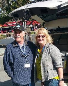 Mike Neff with Antioch Mayor Pro Tem Lori Ogorchock.