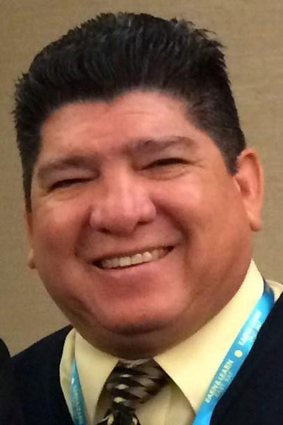 Antioch High School Principal Louie Rocha
