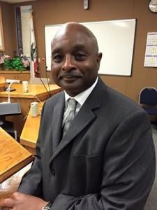 New Antioch School Board provisional member, Alonzo Terry.
